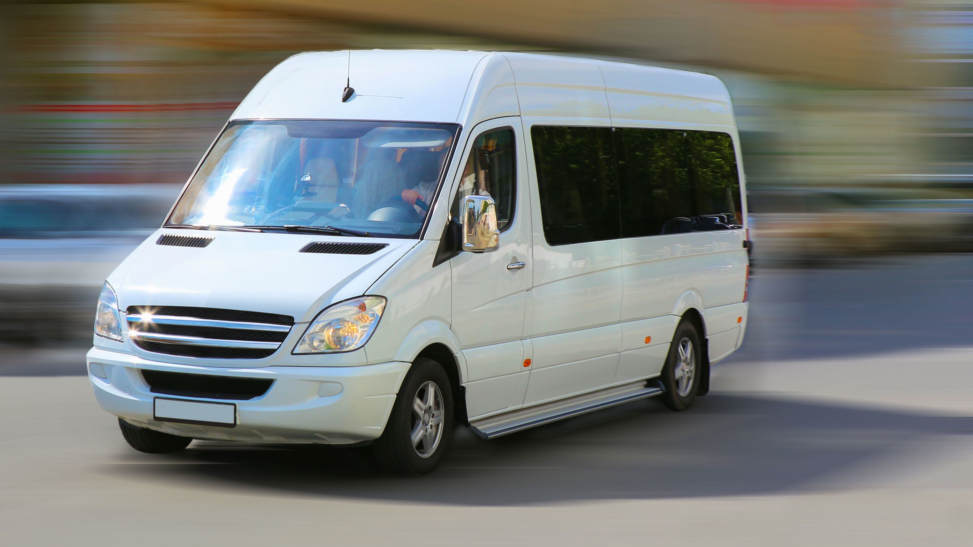 Private Minibus Transportation with Chauffeur Service
