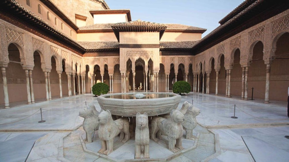 Patio of the Lions.