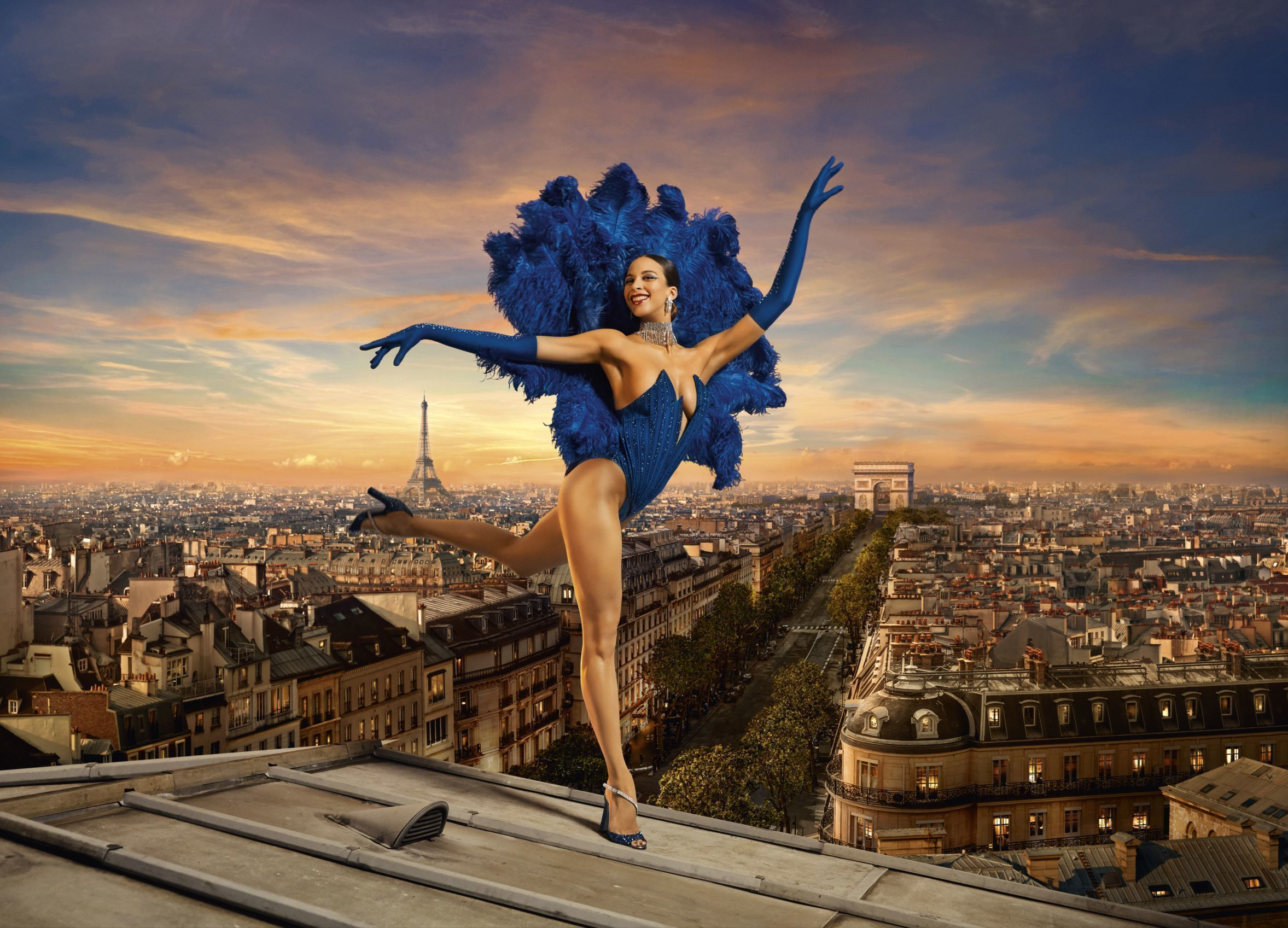 Eiffel Tower Dinner, Evening Cruise on the Seine & Cabaret Show at the Lido