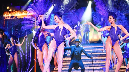 Performers on stage during Le Lido Show.