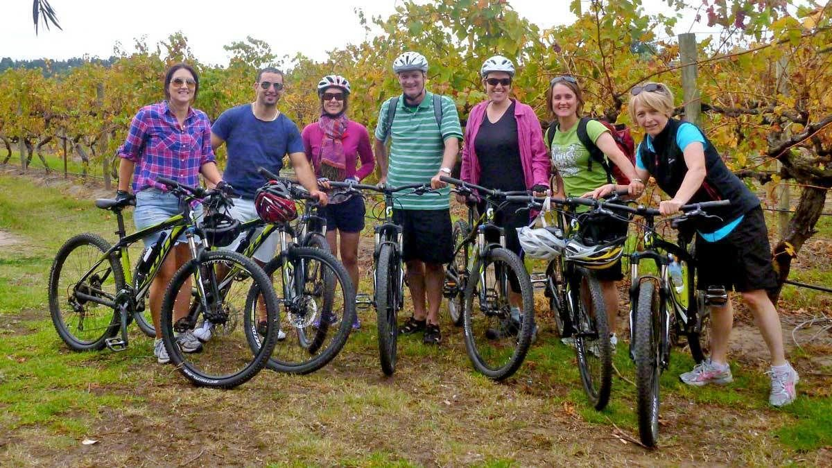 Mclaren Vale Bike and Wine Tour from Adelaide