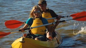 Private Quad bike Tour with Kayak & Sandboard on Kangaroo Island for 4