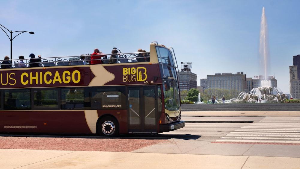 Show item 1 of 10. Chicago Hop-On Hop-Off Big Bus Tour