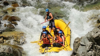 Half-Day Summer Rafting on the Tone River
