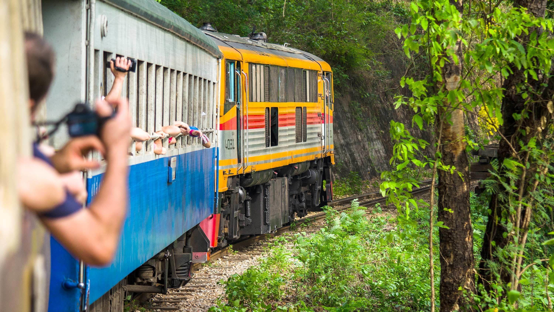 Hellfire Pass Memorial Tour, Bamboo Rafting & Train Ride