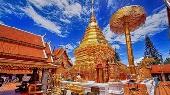 雙龍寺及 Hmong Doi Pui 村莊半日遊