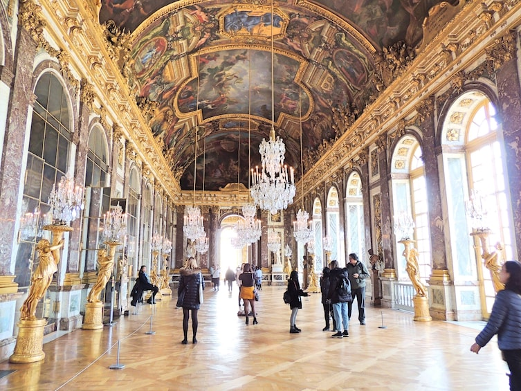 Show item 9 of 9. Skip-the-Line Audio Guided Tour of Versailles with Roundtrip Transportation