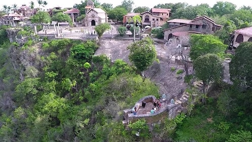 Stunning view of the homes in Dominican Republic (La Romana), Caribbean