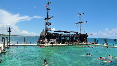 View of the Caribbean Pirates activity in Dominican Republic, Caribbean