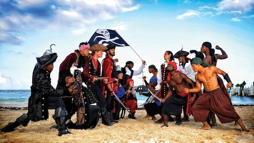 Employees on the Caribbean Pirate tour in Dominican Republic, Caribbean