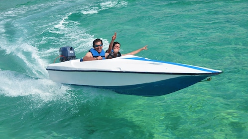 Speed boat tour in Dominican Republic (La Romana), Caribbean
