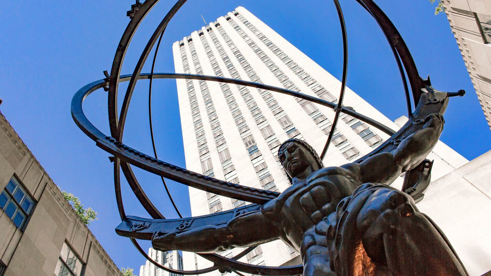 Atlas statue in NYC