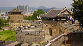 Suwon Hwaseong Fortress & Korean Folk Village from Seoul