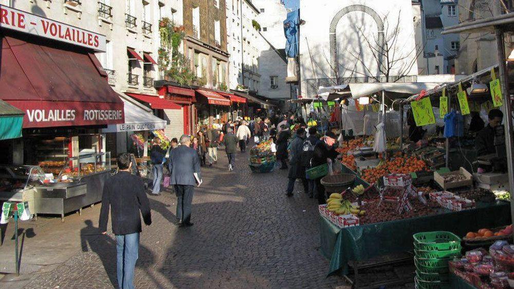 city market in paris