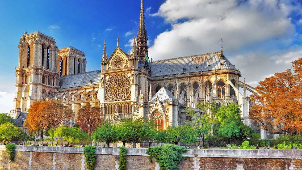 ornate building in paris