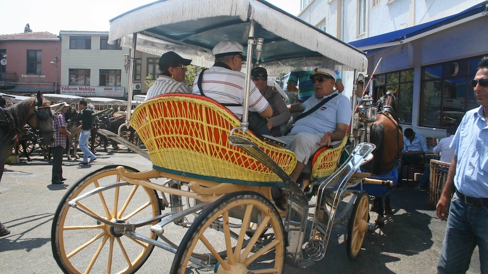 Show item 4 of 5. Carriage in Istanbul