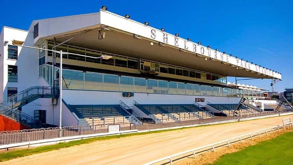 Foto 4 van 5. greyhound racetrack stadium in Dublin