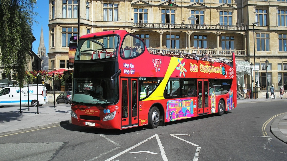 Show item 1 of 10. Hop-On Hop-Off bus in Bath