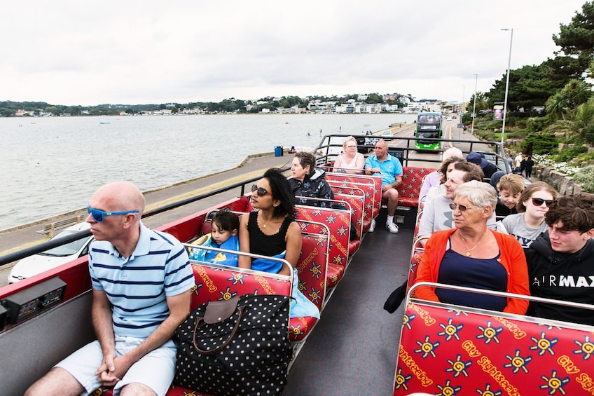 Show item 1 of 10. Bournemouth Hop-On Hop-Off Bus Tour + Boat Tour Options