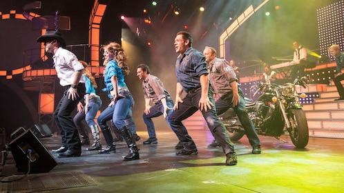 A group of dancers at the Smoky Mountain Opry