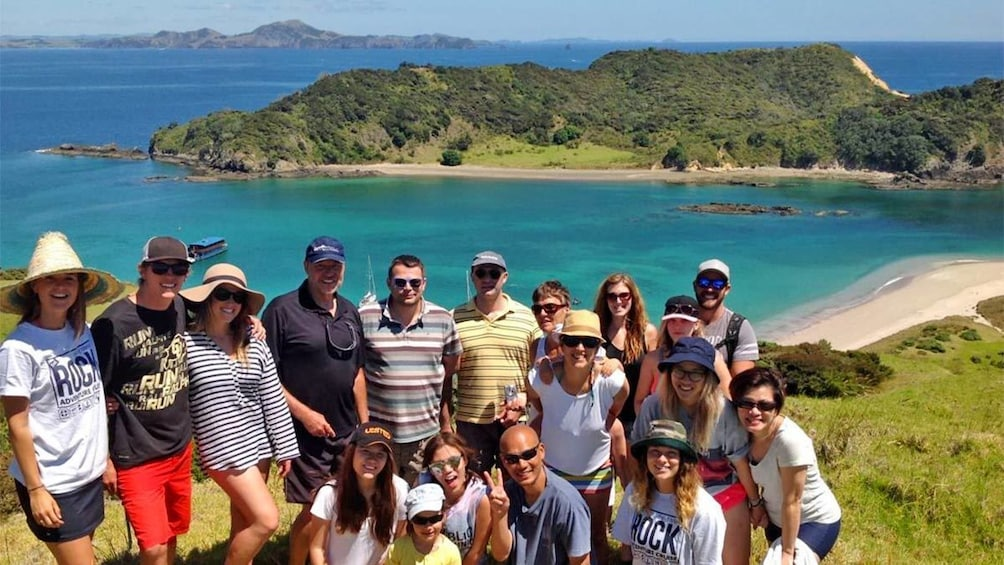 Show item 5 of 5. Group tour of the Bay of Islands, New Zealand