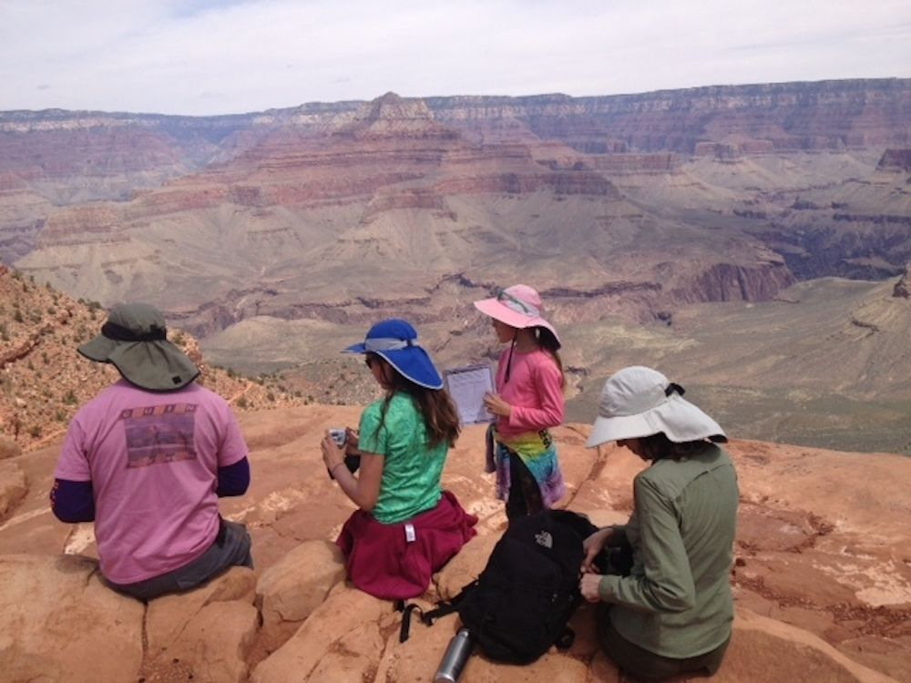 Grand Canyon Hikes with Bindlestiff Tours.JPG