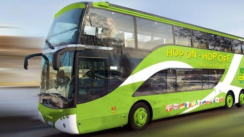 Hop-On Hop-Off tour bus in Stockholm