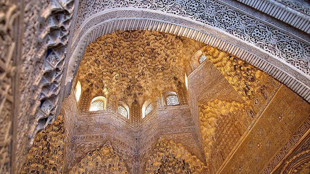 Show item 2 of 10. golden ceiling