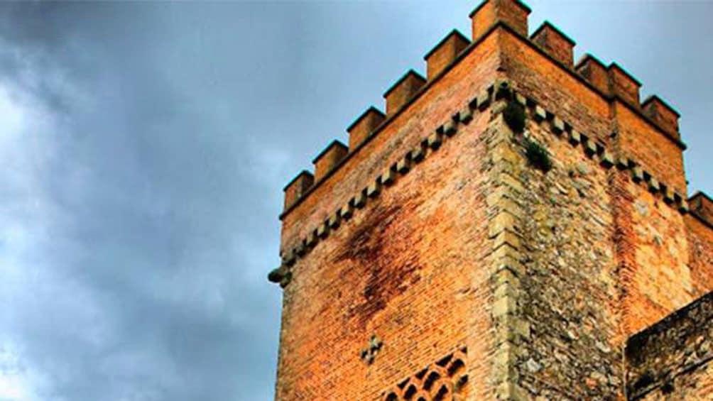 stone castle pillar