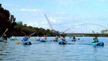 Kayaking Tour Along The Guadalquivir River