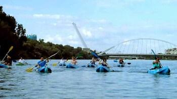 Ruta en kayak por el río Guadalquivir