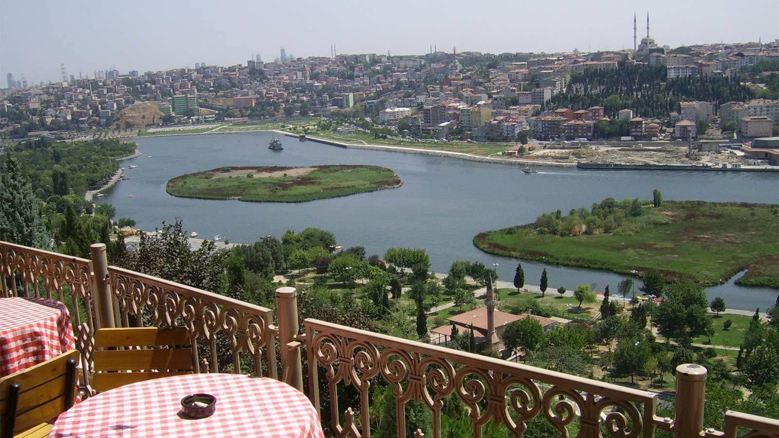 Day time view of the city of Istanbul