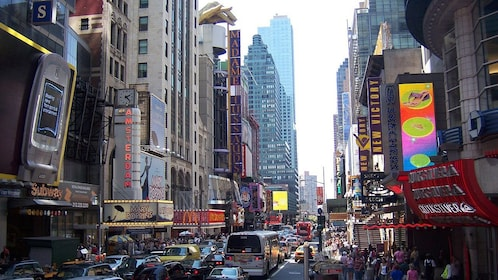 Broadway in New York City