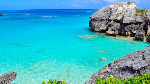 Beautiful Bermuda Beach and Rocks