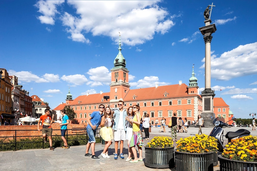 Warsaw city tour with private guide & transportation 4 h