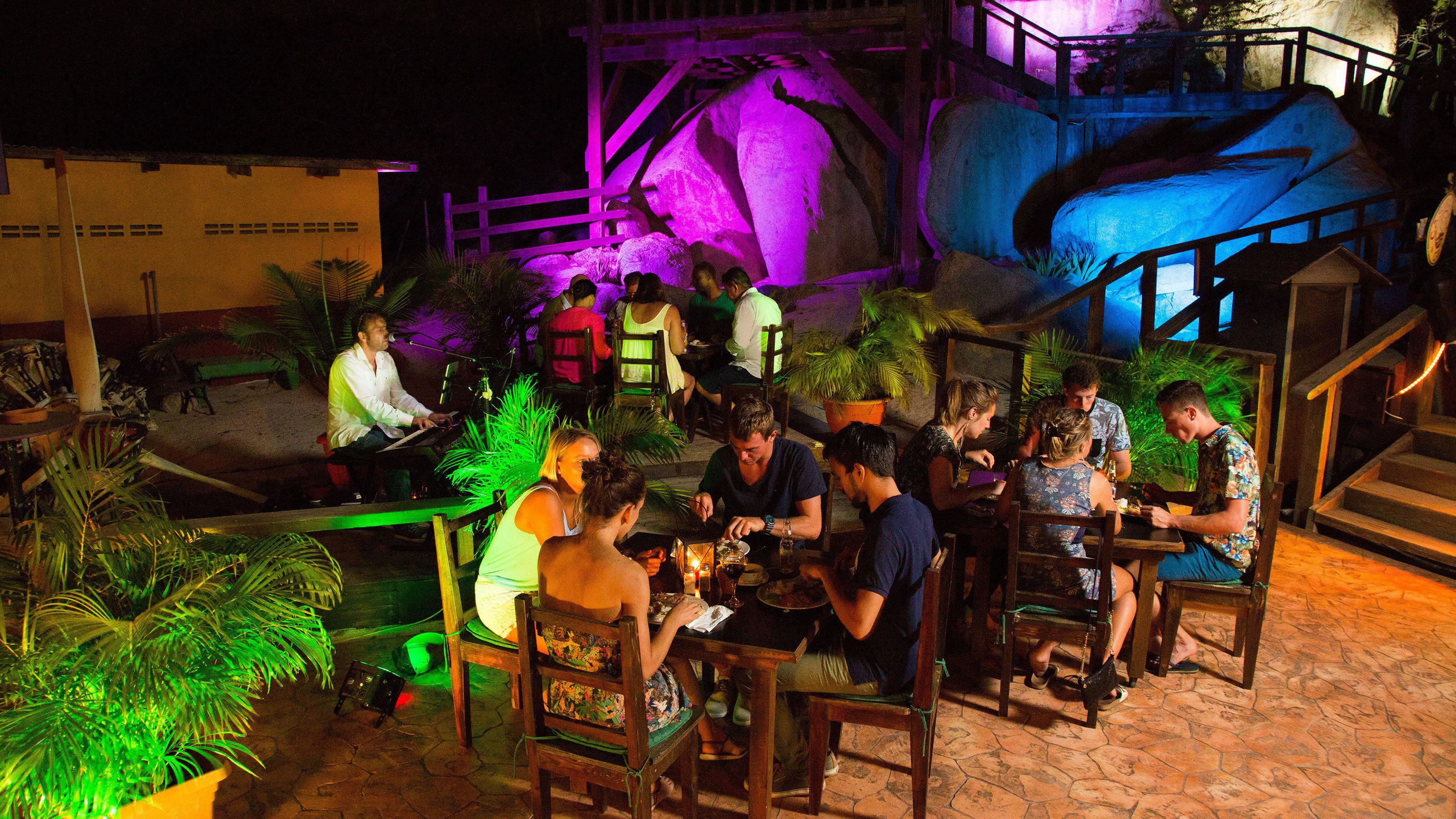 Diner en tour door het nachtleven met drankjes