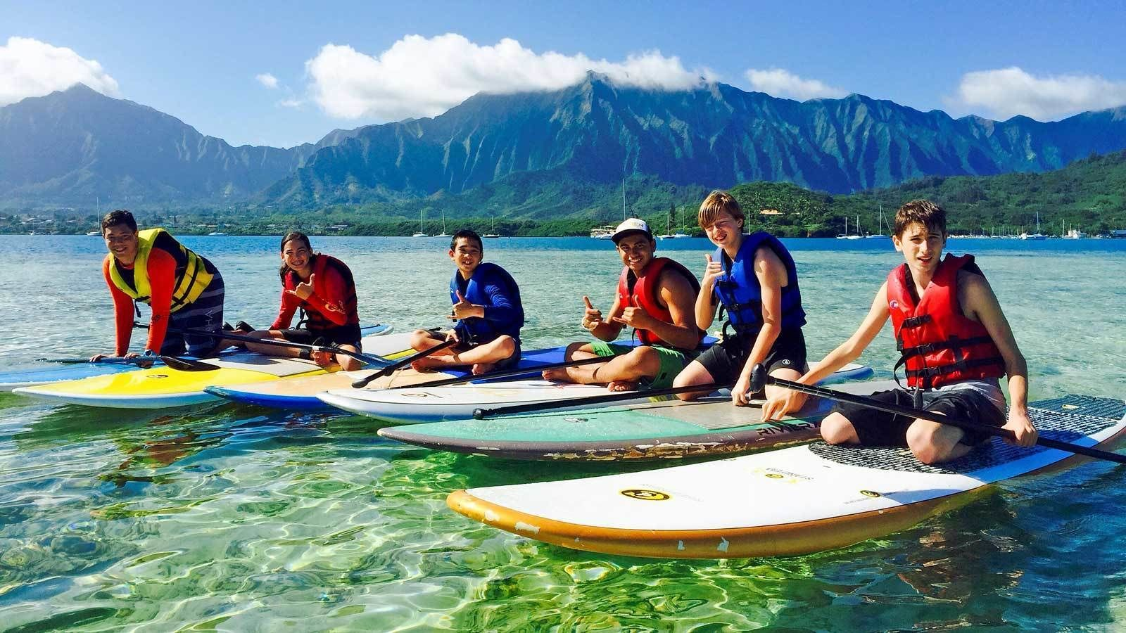 Stand-Up Paddleboard Rental in Kane'ohe Bay