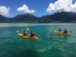 Self-Guided Kayak & Snorkel Discovery with Lunch