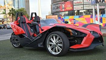 Slingshot – Sportsbil med tre hjul på tur på Las Vegas Strip