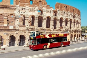 Hop-on, hop-off-tour met Big Bus door Rome