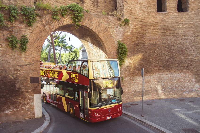 Rome Hop-On Hop-Off Big Bus Tour