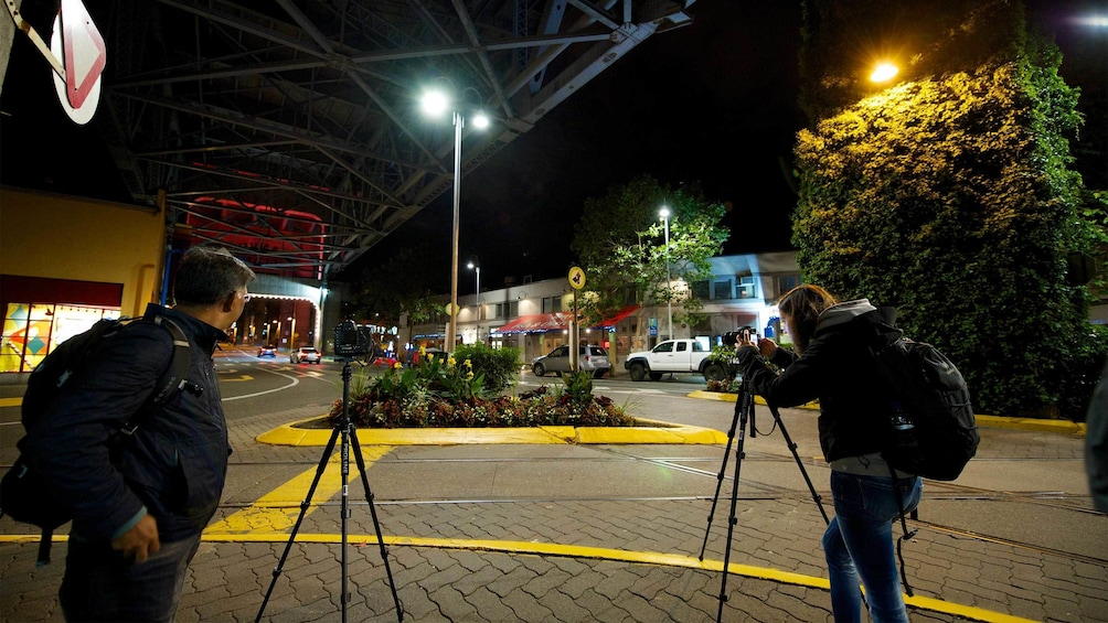 Show item 5 of 8. Granville Island photo tour at night in Vancouver, BC