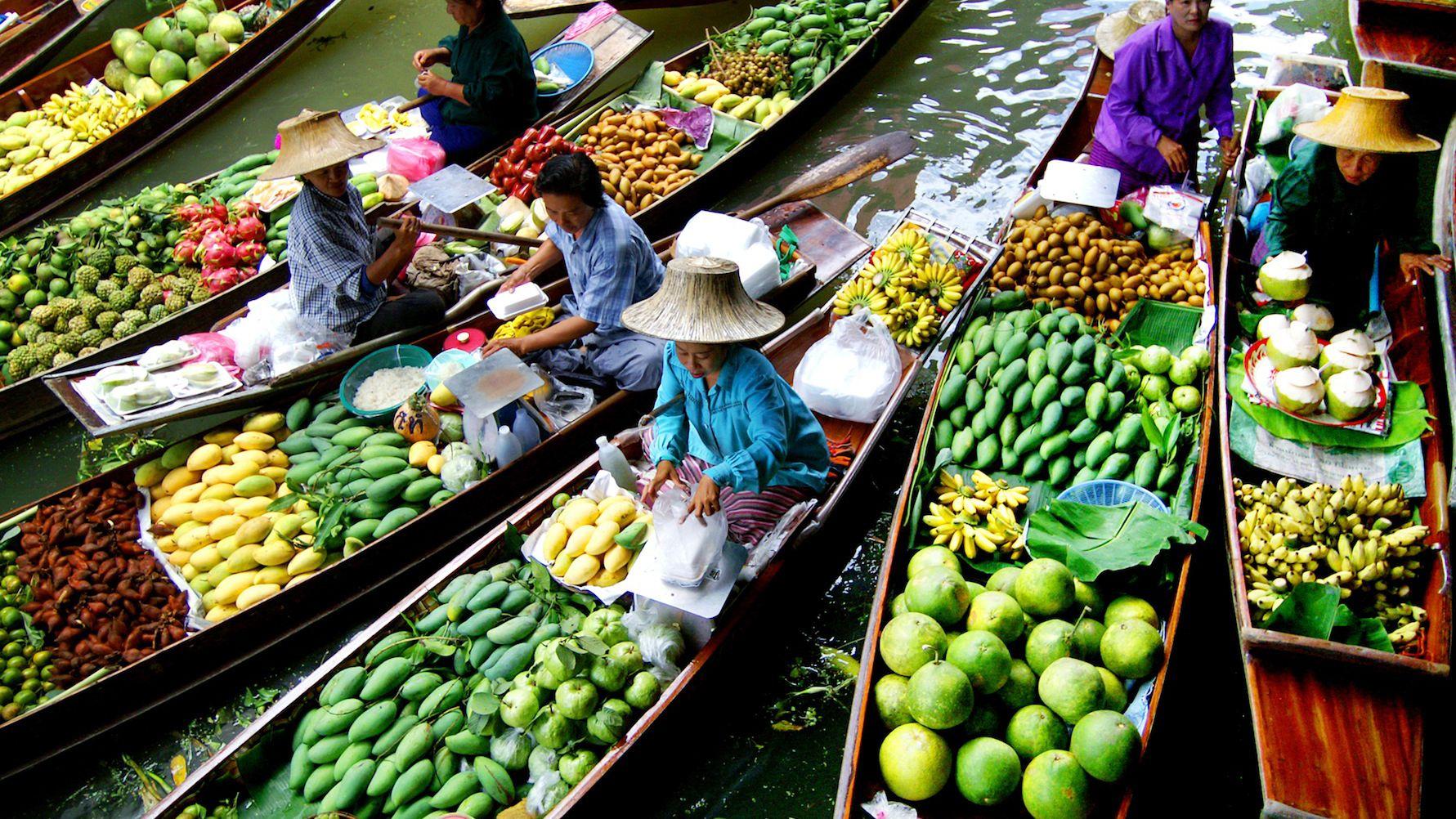 Half Day Damnoen Saduak Floating Market Tour