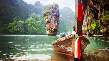 Dagexcursie naar James Bond-eiland in een grote boot