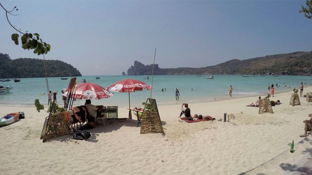 Show item 5 of 5. Sandy beach on Phi Phi Island