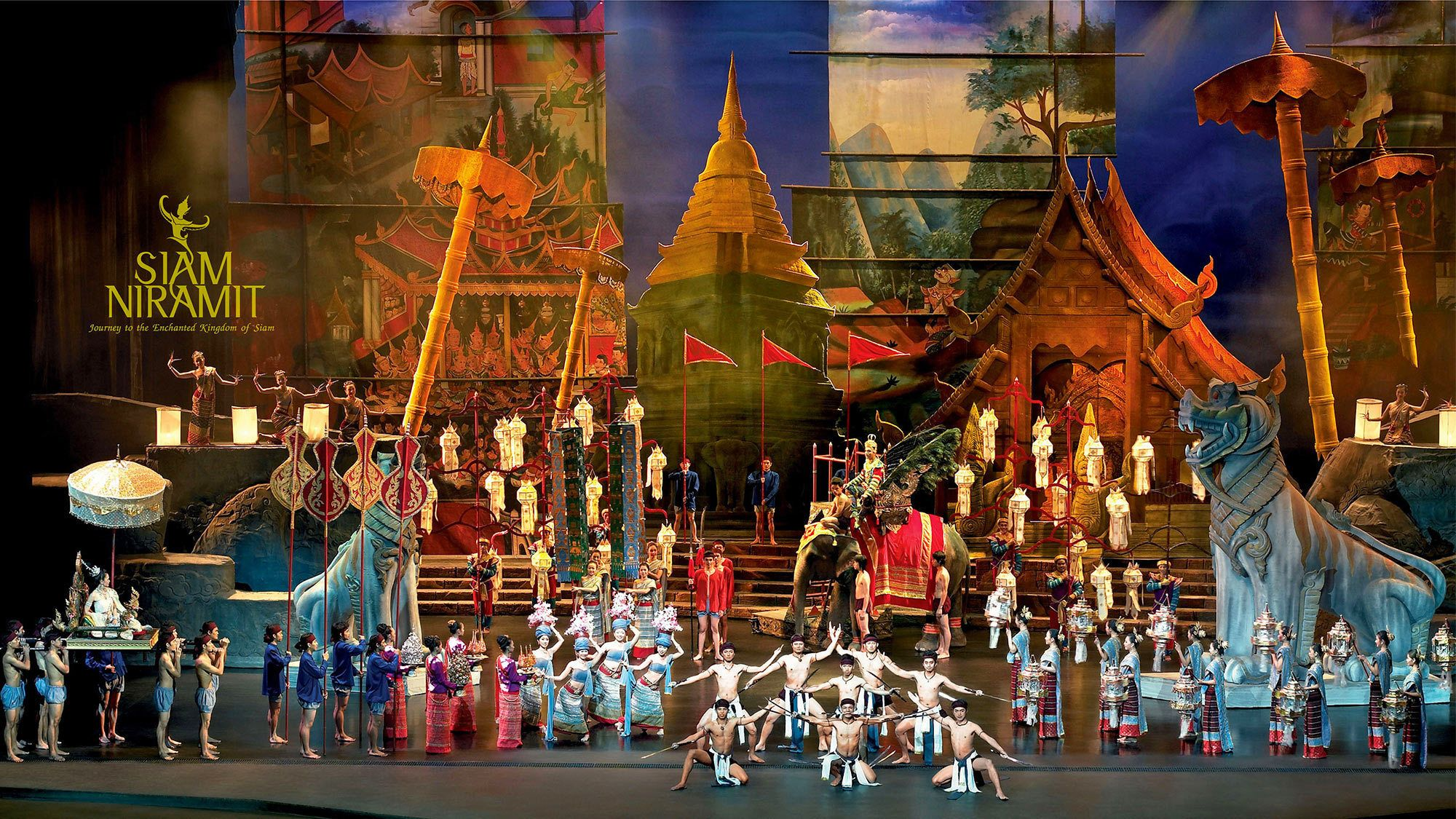 Siam Niramit Show at the Grand Theatre with Dinner & Roundtrip Transfer