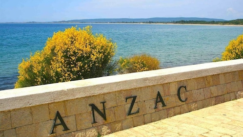 Anzac sign in Istanbul