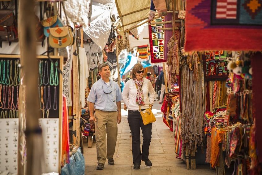 Show item 2 of 9. Full-Day Sacred Valley Tour to Awana Kancha, Pisac & Ollantaytambo