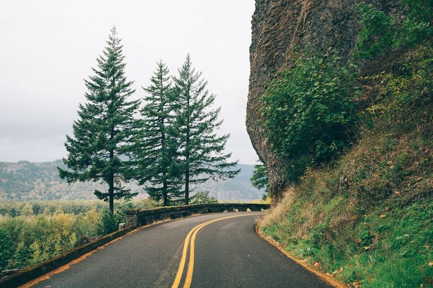 Show item 4 of 10. Half-Day Multnomah Falls & Gorge Waterfalls Tour