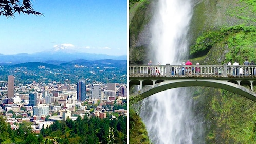 City tour and Gorge waterfall combo tour image